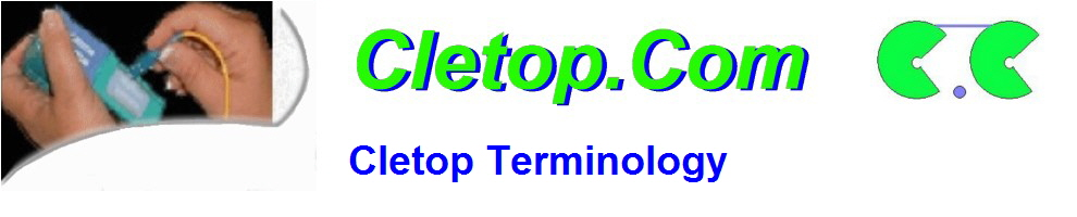 Cletop Terminology
